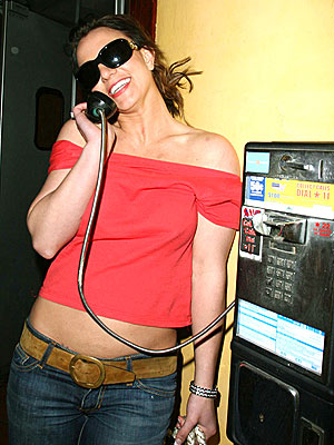 PHONING IT IN photo | Britney Spears