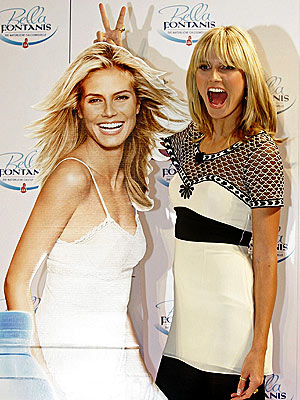 DOUBLE TROUBLE photo | Heidi Klum