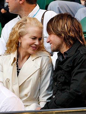 TEAM MATES photo | Keith Urban, Nicole Kidman