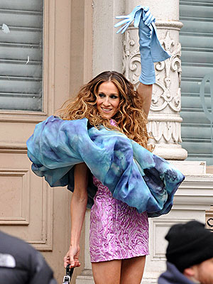 WRAP STAR photo | Sarah Jessica Parker