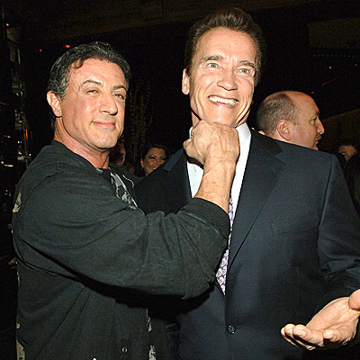 PACKING A PUNCH photo | Arnold Schwarzenegger, Sylvester Stallone