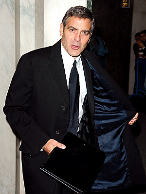 COAT CHECK photo | George Clooney