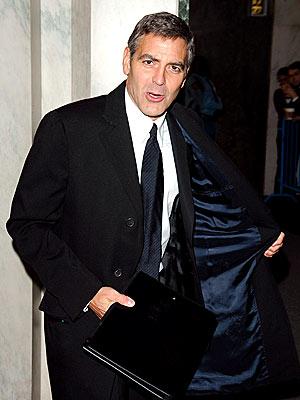 COAT CHECK photo | George Clooney