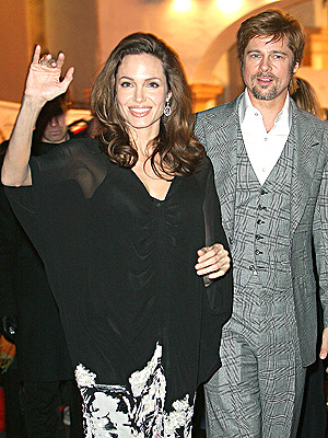 WITH HONORS photo | Angelina Jolie, Brad Pitt