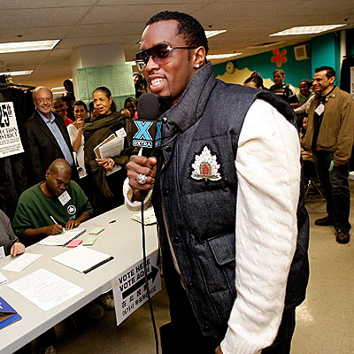 VOTING MACHINE photo | Sean \P. Diddy\ Combs