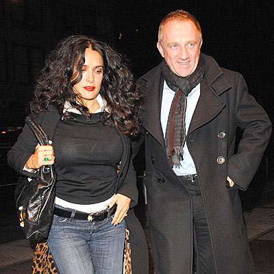 OUT OF TOWNERS photo | Henri Pinault, Salma Hayek