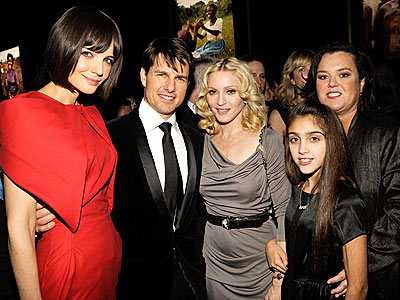 BIG SHOTS photo | Katie Holmes, Madonna, Rosie O'Donnell, Tom Cruise