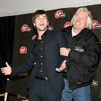 SQUEEZE PLAY photo | Chace Crawford, Richard Branson