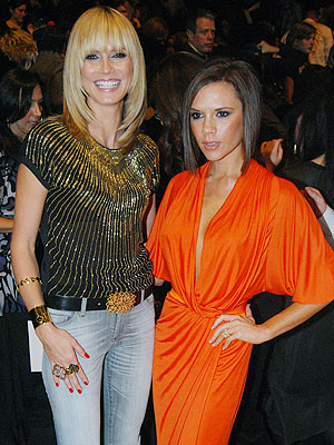 'PROJECT' POSH photo | Heidi Klum, Victoria Beckham
