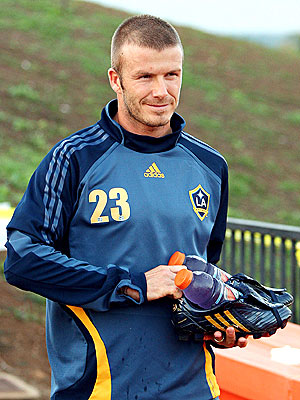 david beckham los angeles