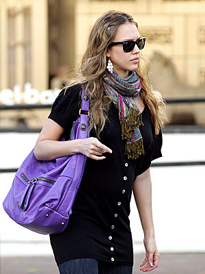 PURPLE HAZE photo | Jessica Alba