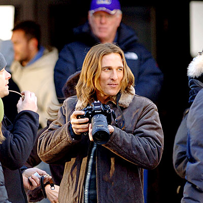 CAMERA READY photo | Matthew McConaughey