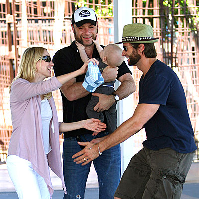 G&#39;DAY, MATE!  photo | Hugh Jackman, Liev Schreiber, Naomi Watts