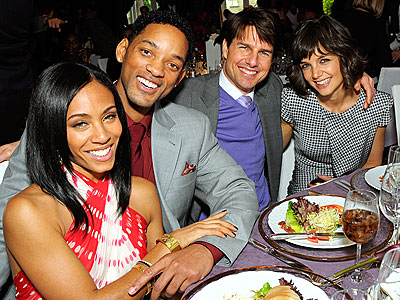 IN GOOD COMPANY photo | Jada Pinkett Smith, Katie Holmes, Tom Cruise, Will Smith