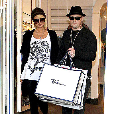 STICKING TOGETHER  photo | Benji Madden, Paris Hilton