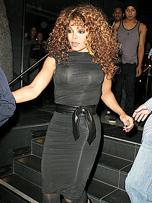 BACK IN BLACK photo | Janet Jackson