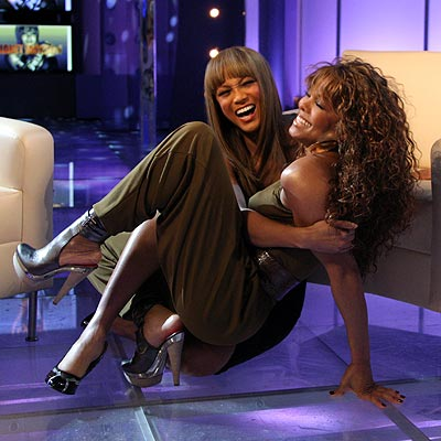 ROUGH & TUMBLE photo | Janet Jackson, Tyra Banks
