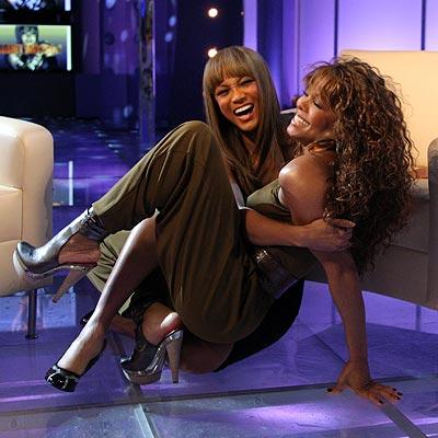 ROUGH & TUMBLE photo | Janet Jackson, Tyra Banks