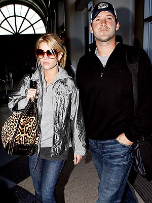 TRAVELING LIGHT photo | Jessica Simpson, Tony Romo