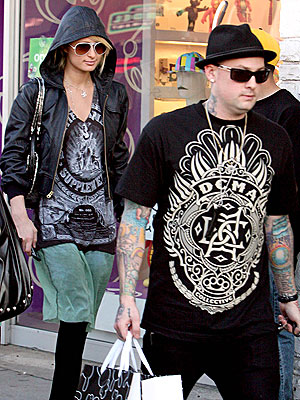 MEET HER MATCH photo | Benji Madden, Paris Hilton