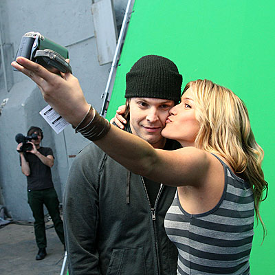 CANDID CAMERA photo | Gavin DeGraw, Kristin Cavallari