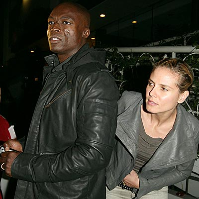 HEIDI AND SEEK  photo | Heidi Klum, Seal