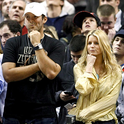 THINK TWICE photo   Jessica Simpson, Tony Romo