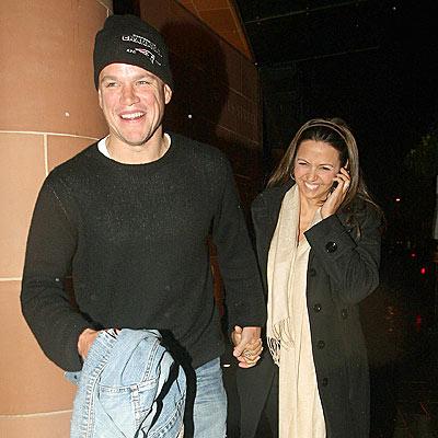 GOOD CHEER-IO photo | Luciana Barroso, Matt Damon