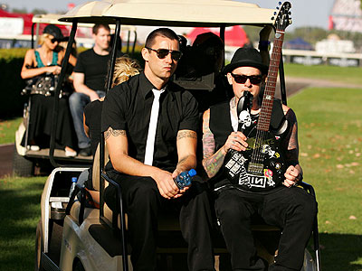 EASY RIDER photo | Benji Madden, Paris Hilton