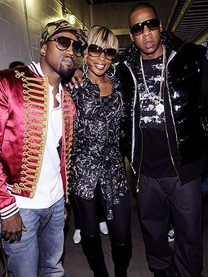 'HEART' TO 'HEART' photo | Jay-Z, Kanye West, Mary J. Blige