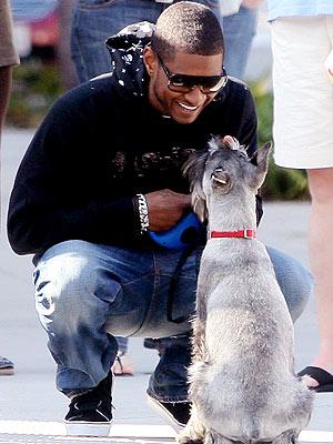 MAN'S BEST FRIEND photo | Usher