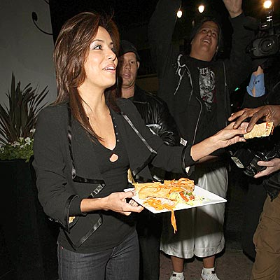 FOOD FOR THOUGHT photo | Eva Longoria
