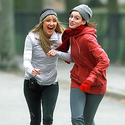 ON THE RUN photo | Anne Hathaway, Kate Hudson