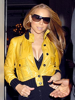 BUTTONED DOWN photo | Mariah Carey