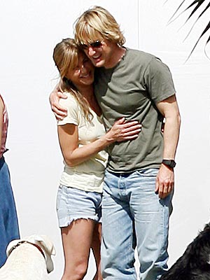 SHINY HAPPY COSTARS photo | Jennifer Aniston, Owen Wilson