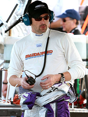 OFF TO THE RACES photo | Patrick Dempsey