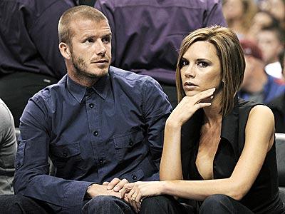 GAME FACES photo   David Beckham, Victoria Beckham