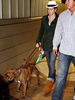DOG HANDLER  photo | Jessica Biel