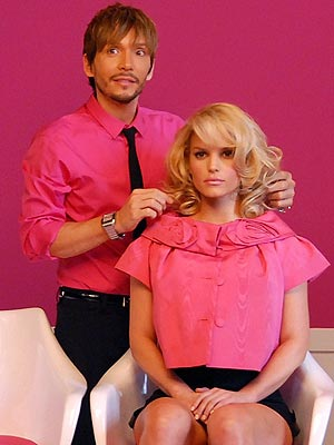 IN THE PINK photo | Jessica Simpson, Ken Paves