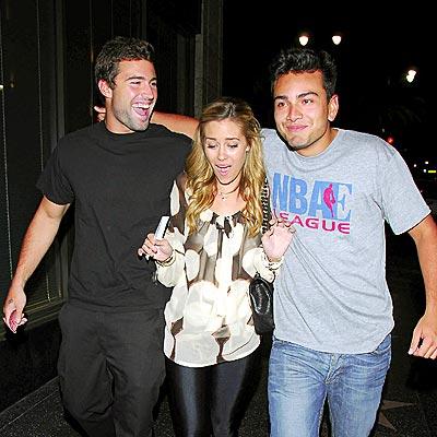 THREE'S COMPANY photo | Brody Jenner, Lauren Conrad
