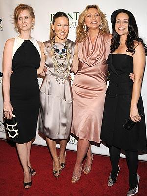 RED CARPET REUNION photo | Cynthia Nixon, Kim Cattrall, Kristin Davis, Sarah Jessica Parker