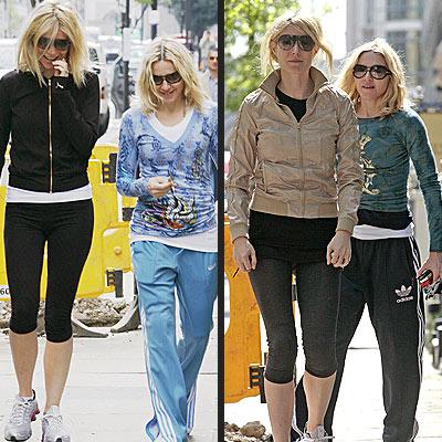 GETTING PUMPED photo | Gwyneth Paltrow, Madonna