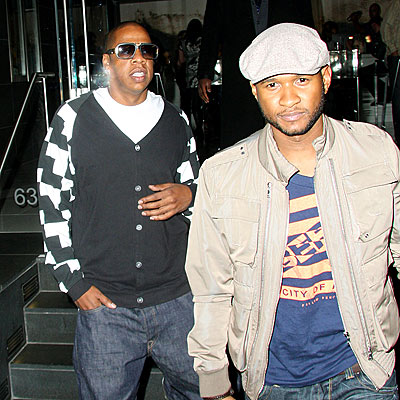 MEETING OF THE RHYMES photo | Jay-Z, Usher