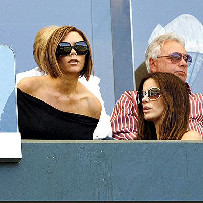 BRITISH CHEER photo | Kate Beckinsale, Victoria Beckham