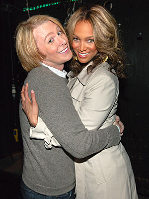 CHEEK TO CHEEK photo | Clay Aiken, Tyra Banks