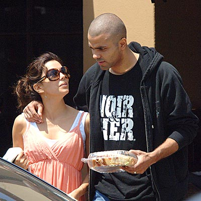 'TOAST' OF THE TOWN photo | Eva Longoria, Tony Parker