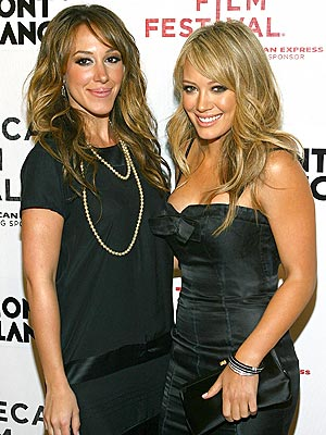 DOUBLE DUFF photo | Haylie Duff, Hilary Duff