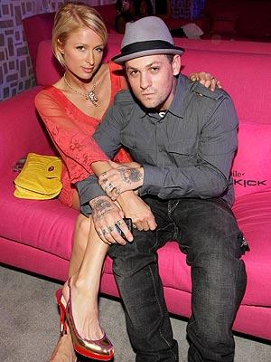 ROCK PARTY photo | Benji Madden, Paris Hilton