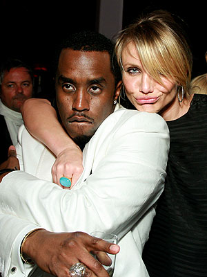 PARTY LIKE P. DIDDY photo | Cameron Diaz, Sean \P. Diddy\ Combs