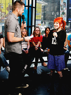 vocalist of paramore. Paramore Lead vocalist Hayley